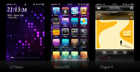 Curent iOS themes 04-06-2011 by kenzodragon