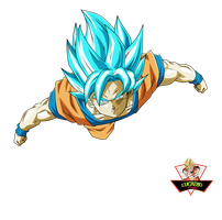 Goku Ssjblue by lucario-strike