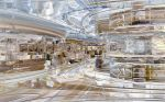 Sketch - Airport shops by Vidom
