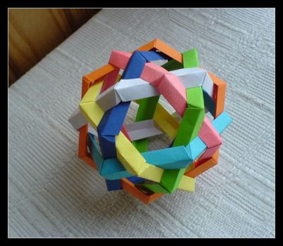 Bola Hexagonal by lonely--soldier