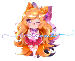 Star Guardian Ahri by punchyabuns