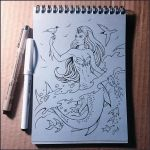 Sketchbook - In two worlds by Candra