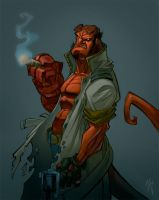 hellboy by ZurdoM