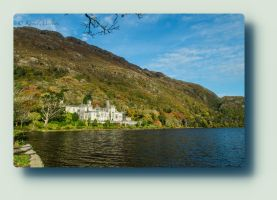 Kylemore Abbey Castle by Haiburidd0