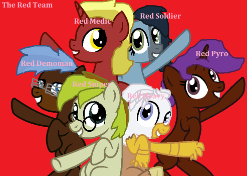 Red Team is Awesome!!!! by LovestruckDart