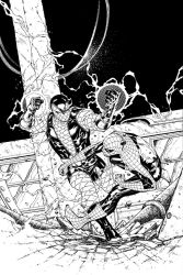 Spider-Man Thursday 13 - John Livesay inks by SpiderGuile