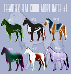 Adoptable Batch #1 [NOW FLATSALE] by TheArtlex
