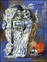 Ghostly Sisters by Leochi