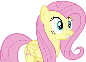 Fluttershy Getting Excited by Uponia