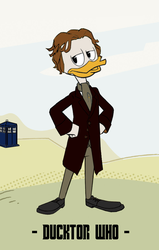 Ducktor Who - 8th Ducktor by JStCPatrick