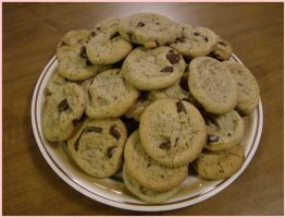 Chocolate Chunk Cookies by MythrilAngel