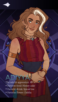 [Arcana] Apprentice Adiyya by hes-per-ides