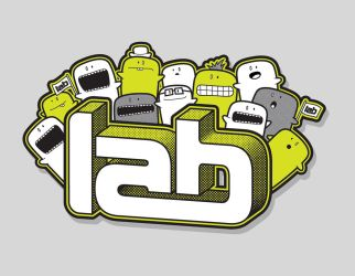 LAB PARTY tee design by 54NCH32