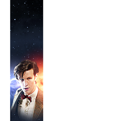 Alternate Eleventh Doctor Big Finish Banner V3 by E-SPACE-Productions