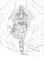 Michael the Archangel by TresMaxwell