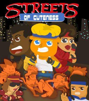 Cute Streets of Rage by yonmacklein