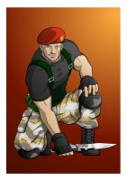 Jack Krauser by Fandias