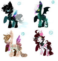 .:Fantasy Pony Adopt:. Open Auction by MayMay-Adopts