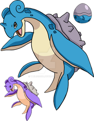 131 - Lapras by Tails19950
