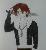 Squall Leonhart by JQroxks21