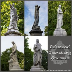 Oakwood Statues by fetishfaerie-stock