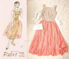'52 Party Dress by thoughtdisorder