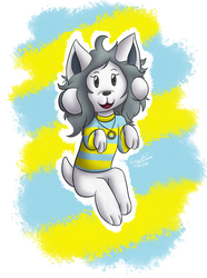 Collab - Temmie by LonicHedgehog