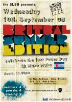 Britbal Summer Edition Poster by fudgegraphics