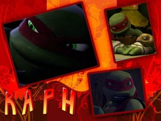Raphael-tmnt2012 collage by silverwolfygirl2