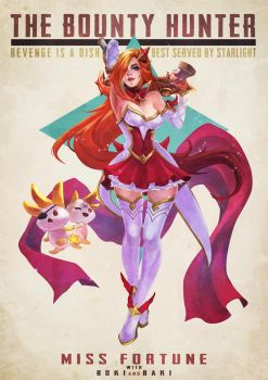Star Guardian Miss Fortune by MonoriRogue