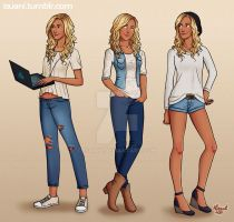 Annabeth outfits by Isuani