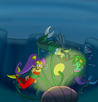 Commission Patreon : Mermaids Hypno by Gregory-GID-DID