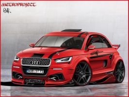 Audi Metroproject by ryl-tm