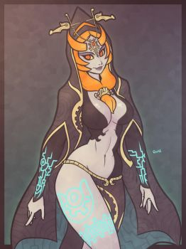 Midna by Ruff-Sketches