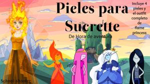 Pieles para Sucrette de HDA by School-shooter by School-shooter