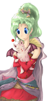 Terra and Mog by Shell19