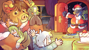 December 2016 Patreon Wallpaper Preview by raizy
