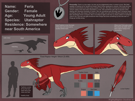 Feria's Reference Sheet 2017 by MightyRaptor