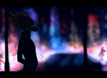The City of Light by Skaynoodle