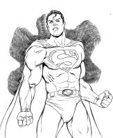 Superman by bathill8