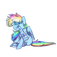 Sock is not my thing! by Myralilth