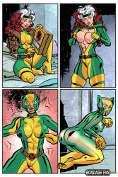 Rogue's New Costume by bondage-fan-comics