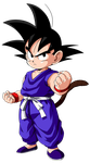 kid Goku by maffo1989