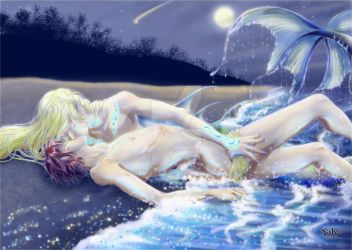 OCs: Sweet call from the sea by SaKo88