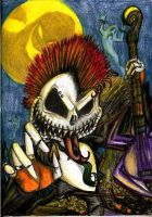 Punk rock Jack Skellington by Anarchpeace