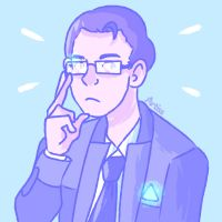 Glasses Connor by LauraArtiss