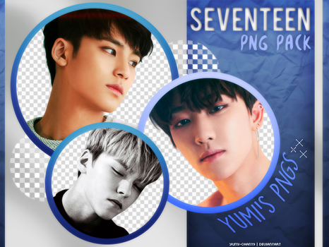 PNG PACK: SEVENTEEN (Project Chapter.1 Alone) by Hallyumi