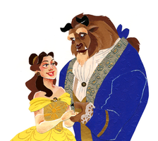Beauty and the Beast by rumpelstiltskinned
