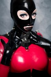 Fetish portrait by Lucawahid