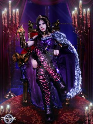 Sitting on the Throne - Liliana Vess Cosplay by 20Tourniquet02